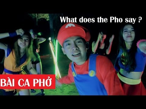 What does the Pho say/The Fox Vietnamese Parody (BÀI CA PHỞ)