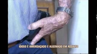 Bandidos amorda�am e algemam idoso durante assalto no Sul de Minas
