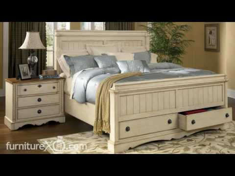 apple valley bedroom set by ashley furniture
