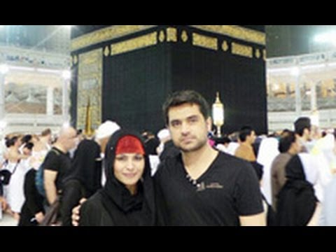Veena Malik & Husband Visit Mecca | Hindi Latest News | Hajj, Asad Bashir Khan Khattak