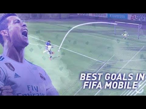Fifa Mobile - Best Goals In Fifa Mobile So Far!!! Top 10 Goals In Fifa Mobile