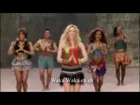 Waka Waka(This time for Africa)-Shakira (LETRA)