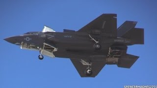 F-35B Lightning II Demo @ 2014 MCAS Yuma Air Show