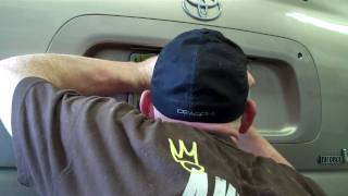 How To Replace The Rear Hatch Handle On A Toyota Sequoia