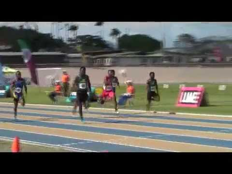 Barbados Today BSSAC Exclusive: 100M Under 20 Boys