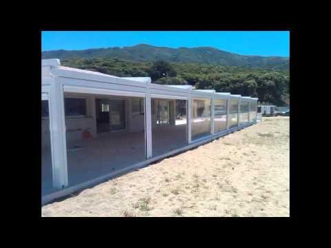 store vertical abri de terrasse fermetures lat rales. Black Bedroom Furniture Sets. Home Design Ideas