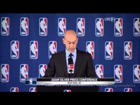 Adam Silver bans Donald Sterling from NBA for life