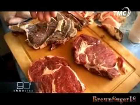 Viande congelée périmée