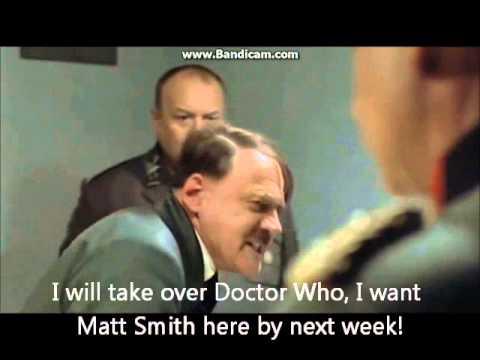 Hitler finds out Matt Smith is regenerating