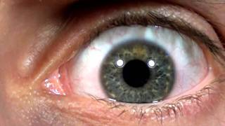 Creepy Slow Motion Eye Movement