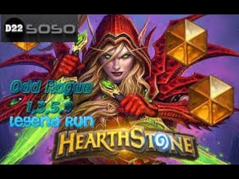 Hearthstone Legendary Run from Wayne