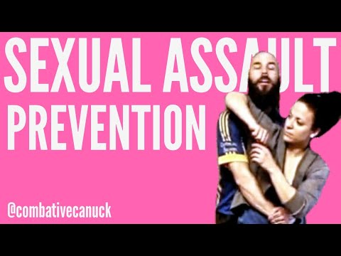 Sexual Assault (3/9) - Bear Hug from Behind (Arms Free) - KennedyTactical.ca
