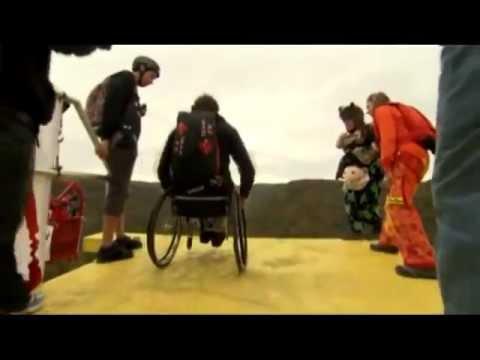 Paralyzed BASE Jumper Rolls Off Bridge in Wheelchair