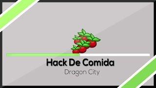 HACK DRAGON CITY [COMIDA ATUALIZADO 500K DE FOOD ] 2015