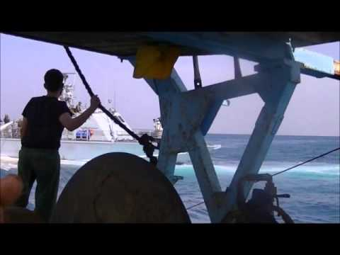 Breaking the siege with the Palestinian fishermen to support their livelihood under Israeli attack