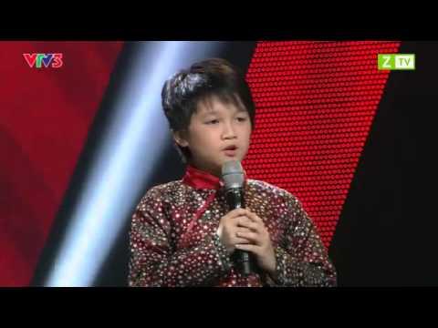 Giọng hát Việt nhí - Nguyễn Chiến Thắng - Trống cơm - Vòng giấu mặt