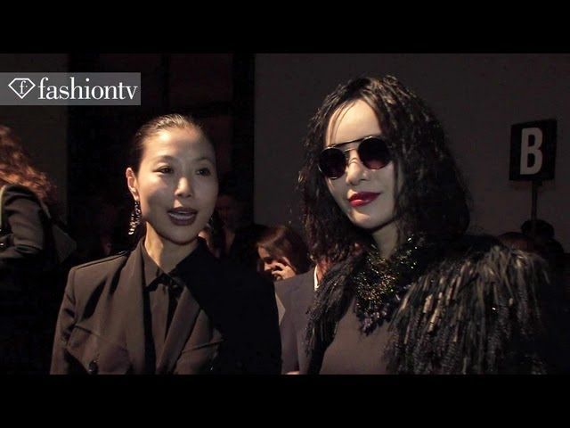 Barbara Bui Spring/Summer 2014 FRONT ROW | Paris Fashion Week PFW | FashionTV