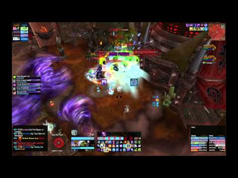 Siege of Orgrimmar - Frost Mage PoV - Dark Shamans H10