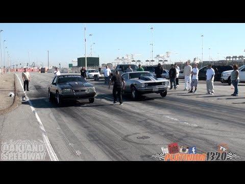 496 BBC Nitrous 67 Camaro vs LSX Nitrous Mustang
