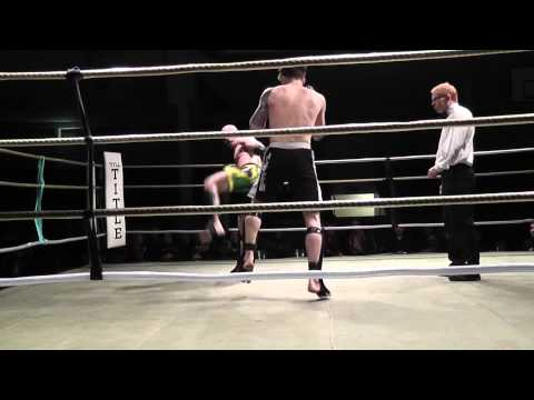 Christian Infante vs  Erik Greisson. Shootfighting SM 2010, SM-titel -83 kg