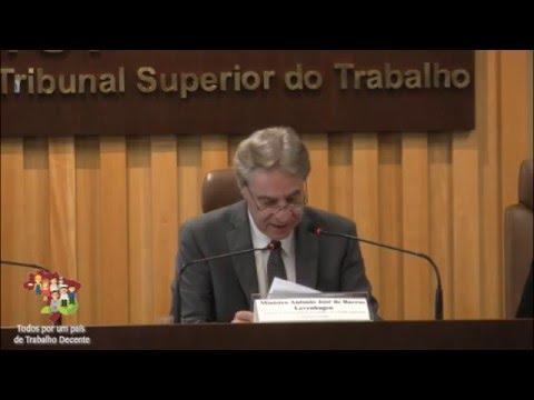 Presidente do TST fala sobre o Trabalho Temporário (Lei 6.019/1974), no Brasil