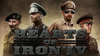 Hearts of Iron IV Alpha Gameplay Preview with Commentary