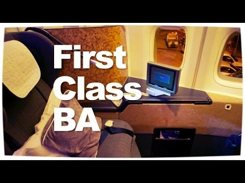 British Airways First Class Review |  747 from London to Bangkok