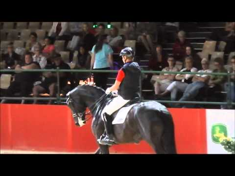 Carl Hester riding Brett's Horse Equitana 2013 SkipperCam