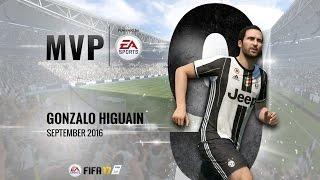 Gonzalo Higuain: EA MVP for September