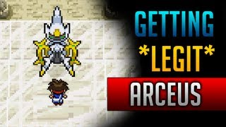 How & Where To Catch/get *LEGIT* Arceus In Pokemon Black