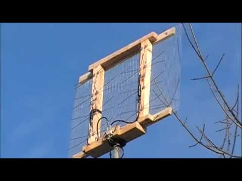 Home made Antenna - YouTube