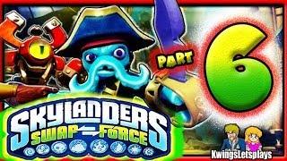 Skylanders Swap Force Wii U Walkthrough Part 6 Rampant