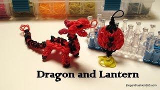 Rainbow Loom Dragon Charm/action Figure How To