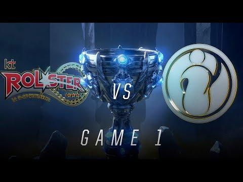 KT vs IG | Quarterfinal Game 1 | World Championship | kt Rolster vs Invictus Gaming (2018)