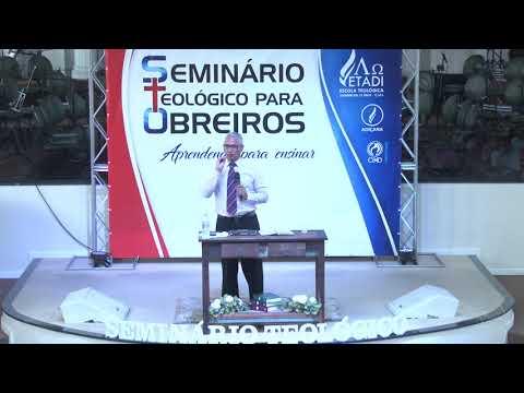 Seminário teológico para obreiros - Pr. Joel Paulino - Palestra 02 - 22 09 2018