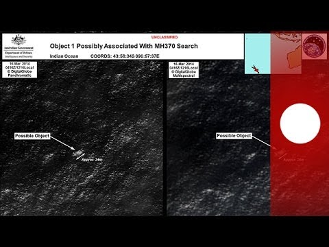 Possible debris from missing Malaysia Airlines plane on Australia satellite images