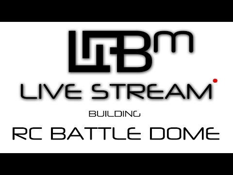Space Engineers Live Stream - Building The RC Battle Dome!