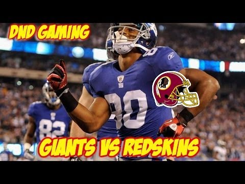 MADDEN 25 PS4 GAMEPLAY | GIANTS VS REDSKINS | CRAZIEST PLAY EVER IN MADDEN 25!