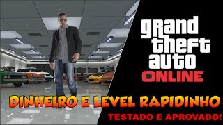 (PS3)GTA V ONLINE GLITCH COMO GANHAR RP (LEVEL) E