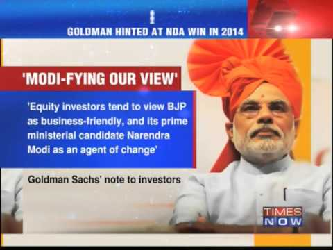 Anand Sharma vs Goldman Sachs