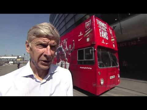 Arsene Wenger talks about his new extended contract with Arsenal