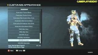 Call Of Duty: Ghosts: Create A Soldier Showoff! Uniform
