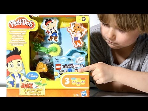 Play doh jake and never land pirates treasure creations lego the