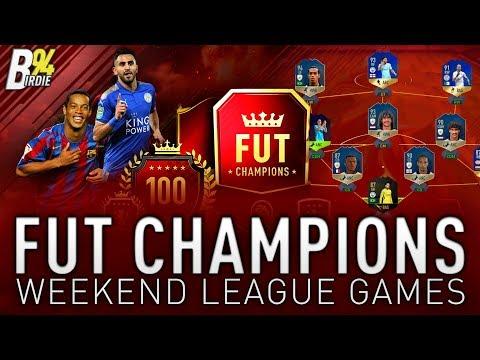 BUNDESLIGA TOTS TODAY - FUT Champions Weekend League Games!!! - FIFA 18 RTG - #108
