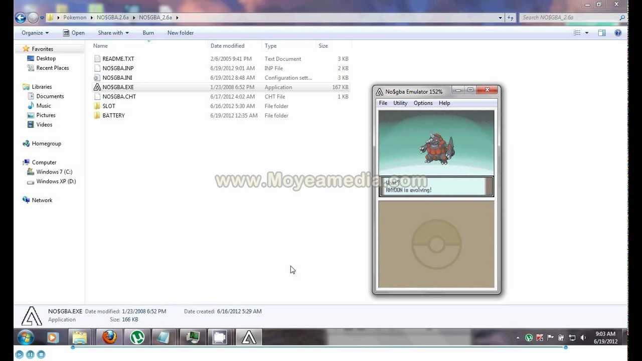 Pokemon black 2 ntevo rom