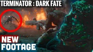 Terminator Dark Fate NEW FOOTAGE + AMAZING DETAILS