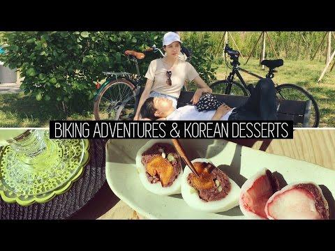 Biking Adventures & Traditional Korean Dessert (자막)국제커플 브이로그 전통 찻집 & 바이킹 어드벤쳐
