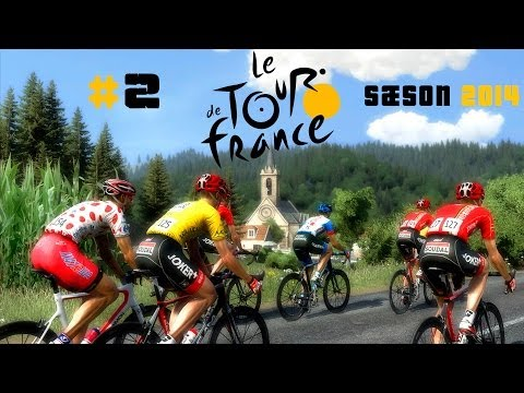 Tour De France Game 2014 - Etape 2 - Andy Schleck  (Danish)