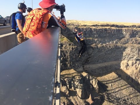 Perrine Bridge Base Action August 2016