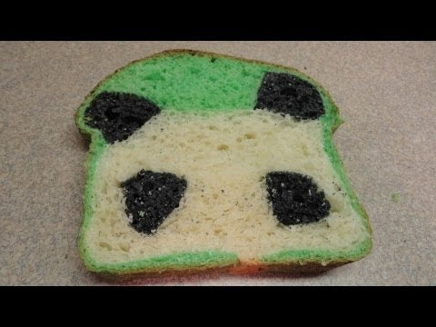 How To Make Panda Bread, How to bake a bread loaf with a cute little panda hiding inside! Thanks to you tuber paperbridgeblablahs who mentioned in a comment that she made panda bread...